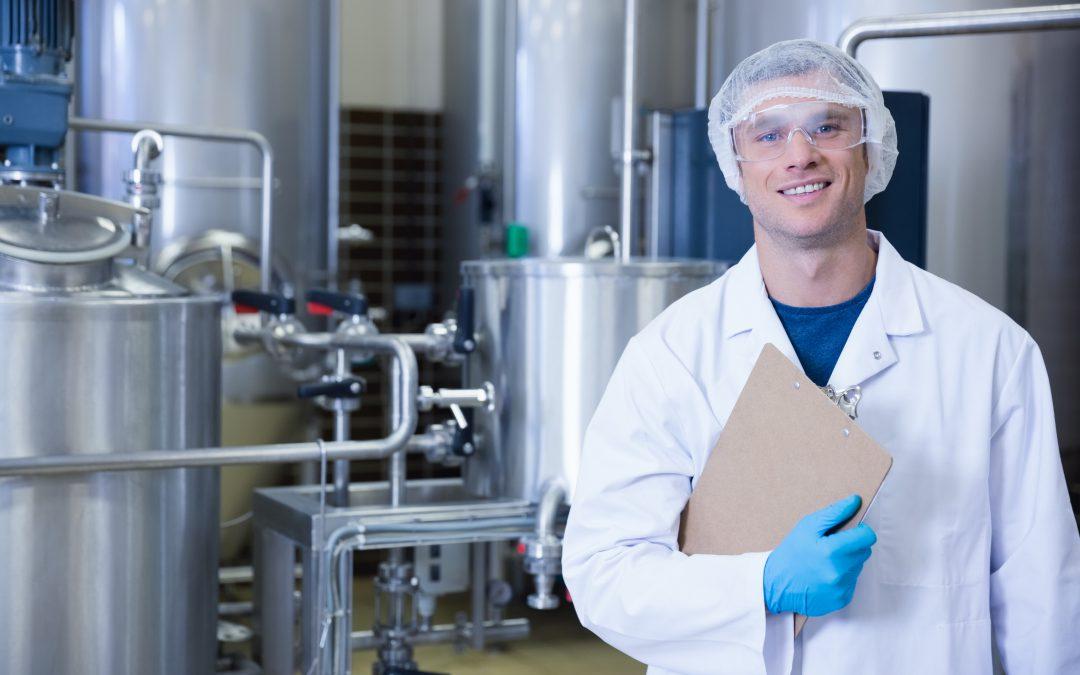 Dělník potravinářské výroby